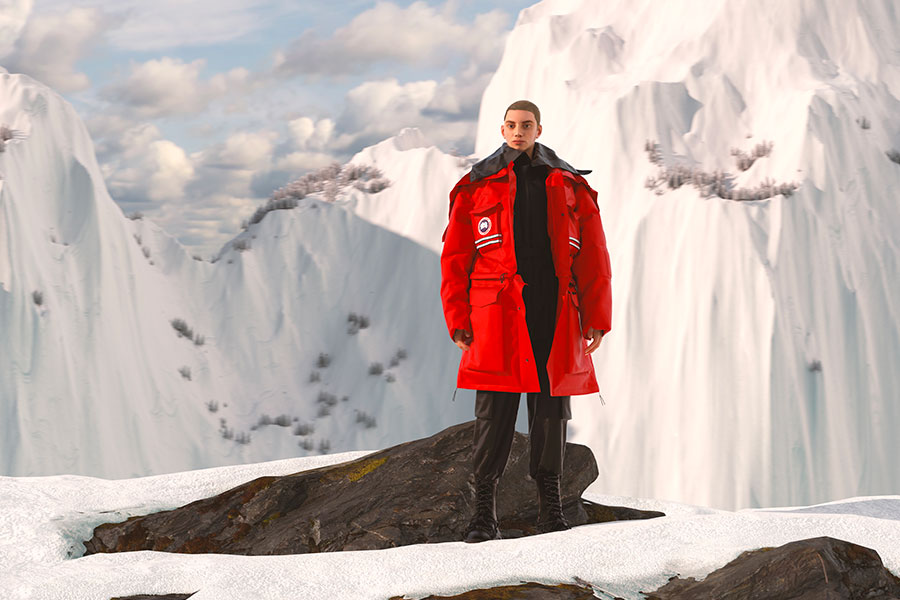 Collection Angel Chen for Canada Goose Printemps 2021