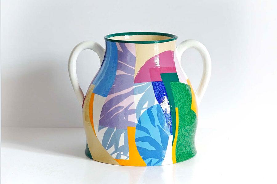 Collection de céramiques « MÉDITERRANÉE » par Polar