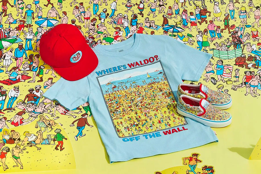 Collection Vans x Where's Waldo?