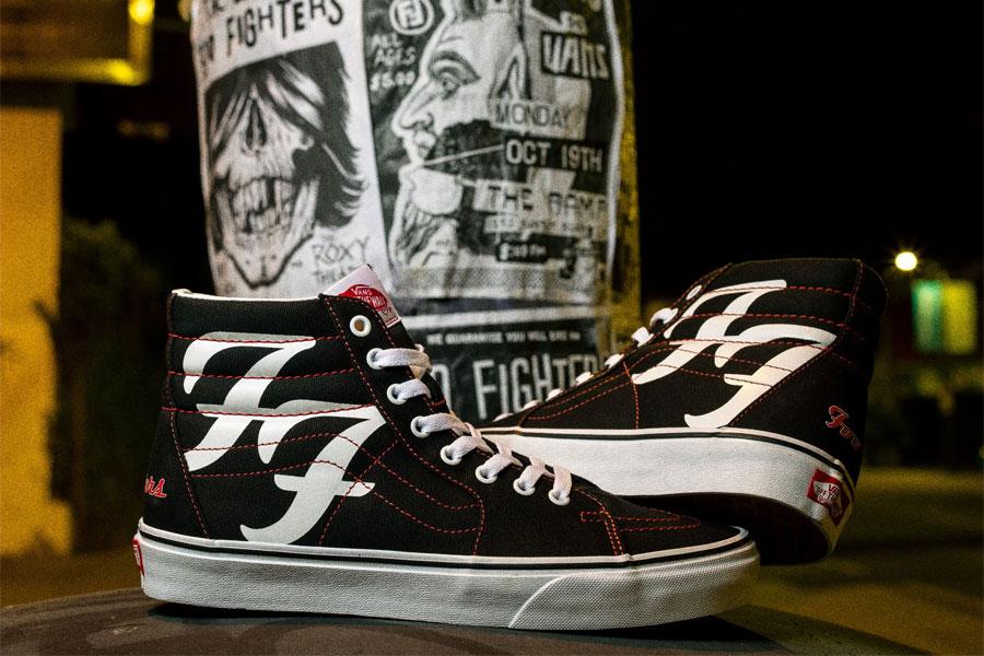 Édition limitée Foo Fighters x Vans Sk8-Hi