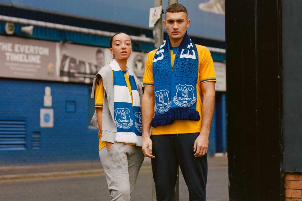 "Everton x hummel ""Game Day"" Printemps/Été 2021"