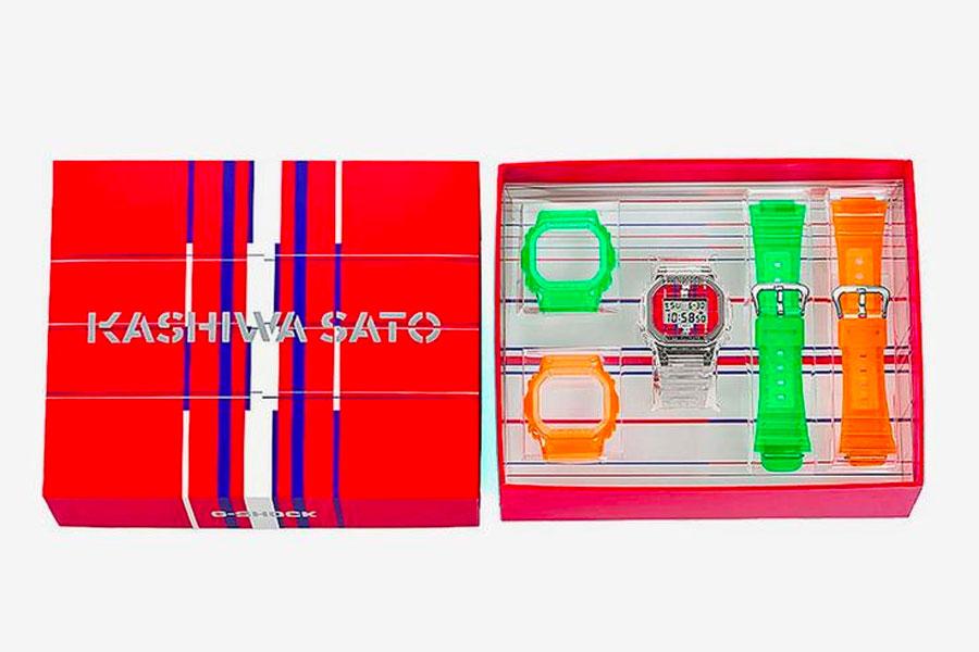 Kashiwa Sato x G-SHOCK DW-5600