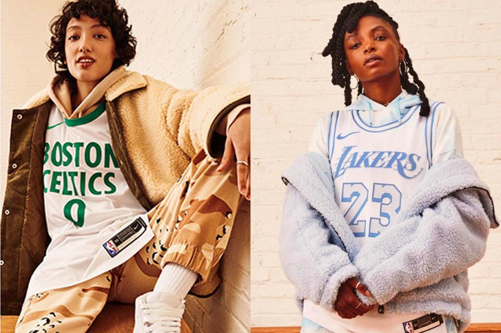 """Maillots Nike """"NBA City Edition"""" 2020-21"""