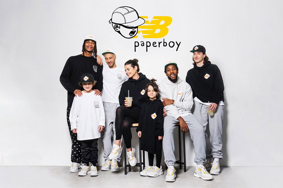Paperboy Paris x New Balance 992