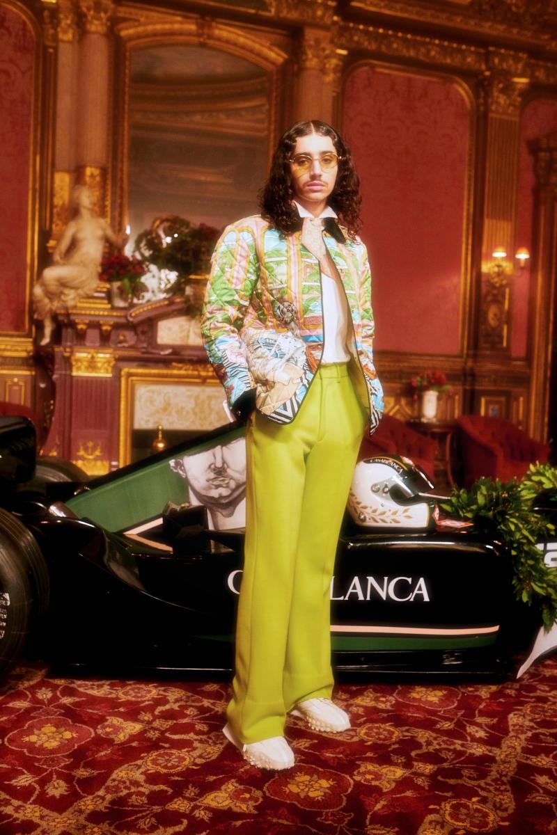 "PFW : Casablanca ""Grand Prix"" Automne/Hiver 2021"