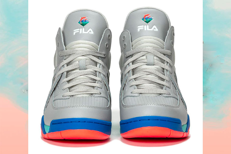 Pink+Dolphin x FILA Cage Cool Gray