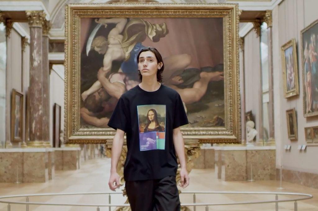 Collection Uniqlo UT x Musée du Louvre Printemps/Été 2021