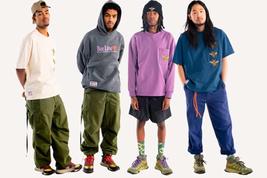 """Collection capsule Bee Line for Billionaire Boys Club x Timberland """"Hiking"""""""