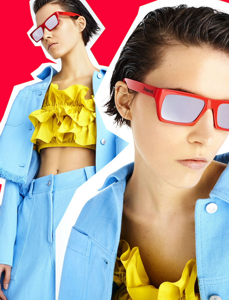 Collection capsule MSGM x Polaroid Eyewear