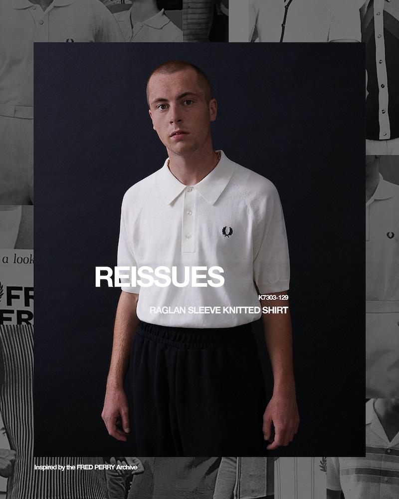 Collection Fred Perry REISSUES Printemps/Été 2021