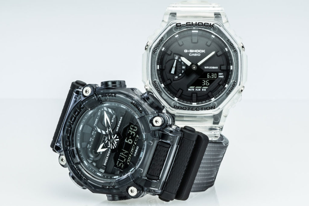 G-Shock Transparent Pack Series