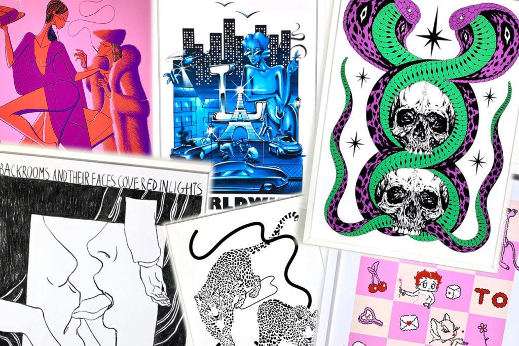 L'Encrerie dévoile une série d'illustrations par 13 différents artistes résidents