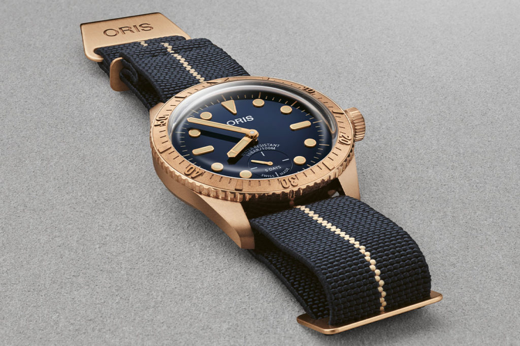 Montre Oris Carl Brashear Calibre 401 Limited Edition