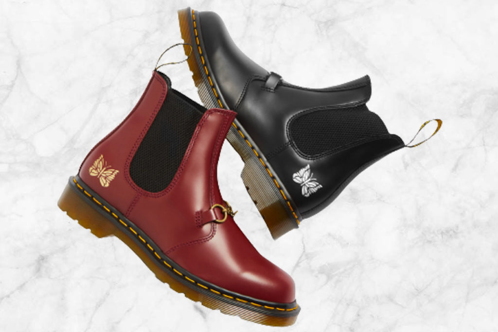Needles x Dr. Martens Chelsea boot 2976