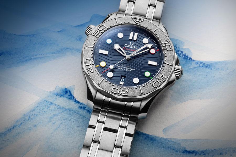 """OMEGA Seamaster Diver 300 édition limitée """"Beijing 2022"""""""