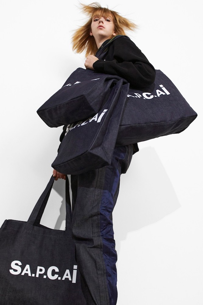 capsule A.P.C. & sacai INTERACTION#9