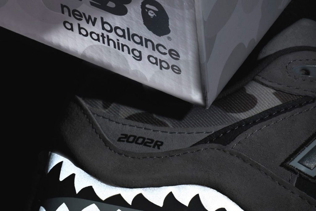 Teaser BAPE x New Balance 2002R