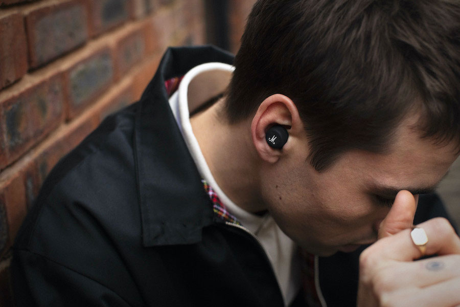 Écouteurs intra-auriculaires sans fil Marshall Mode II