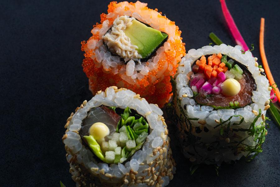 Sushi Shop x Polaroid
