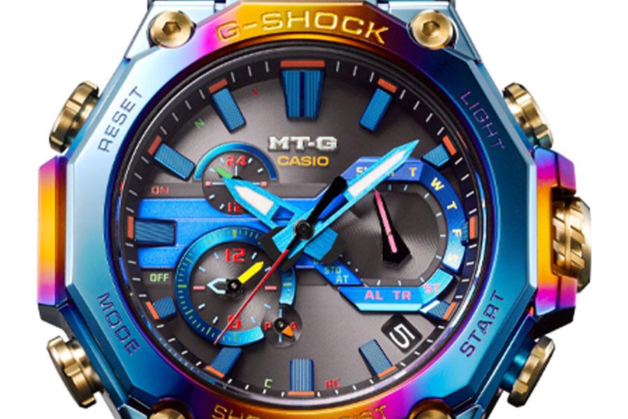 G-Shock lance la nouvelle MT-G Blue Phoenix