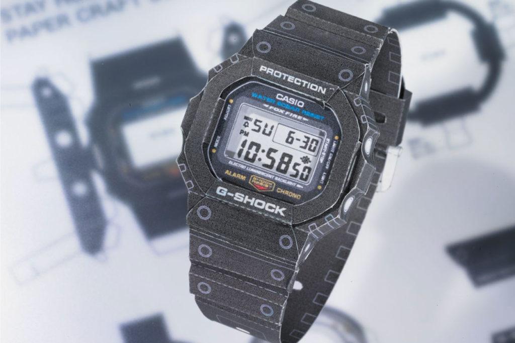 "G-Shock ""Papercraft"" DW-5600"
