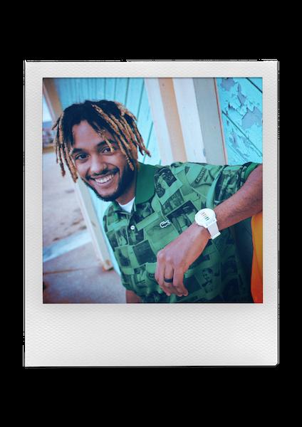 Collection LACOSTE x Polaroid Printemps/Été 2021