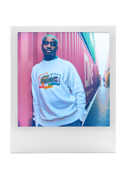 Collection LACOSTE x Polaroid Printemps/Été 2021