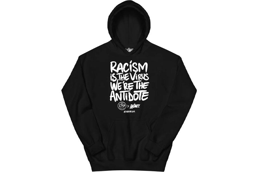 "apsule Limoges CSP x Daömey ""Racism is the virus, We're the antidote"""