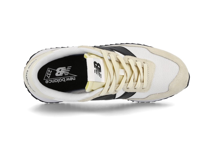 New Balance 237 beige et noir