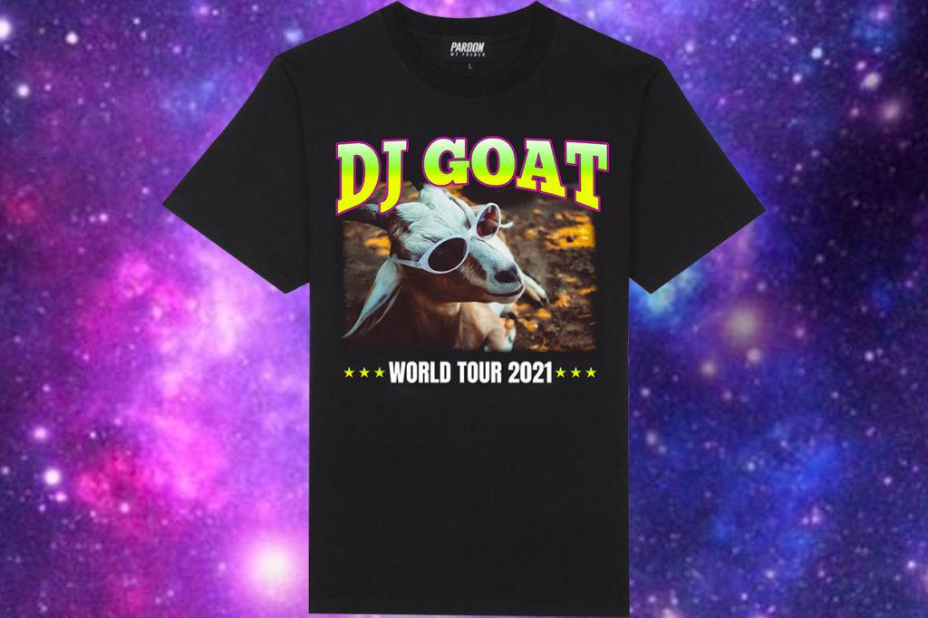 "T-shirt Pardon My French ""DJ GOAT"""