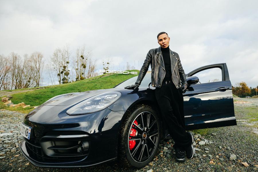 """Porsche x Olivier Rousteing """"Drive Defined"""""""