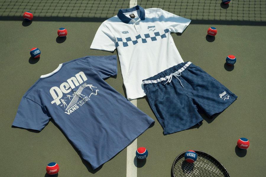 Vans x Penn s'invite sur les courts de tennis