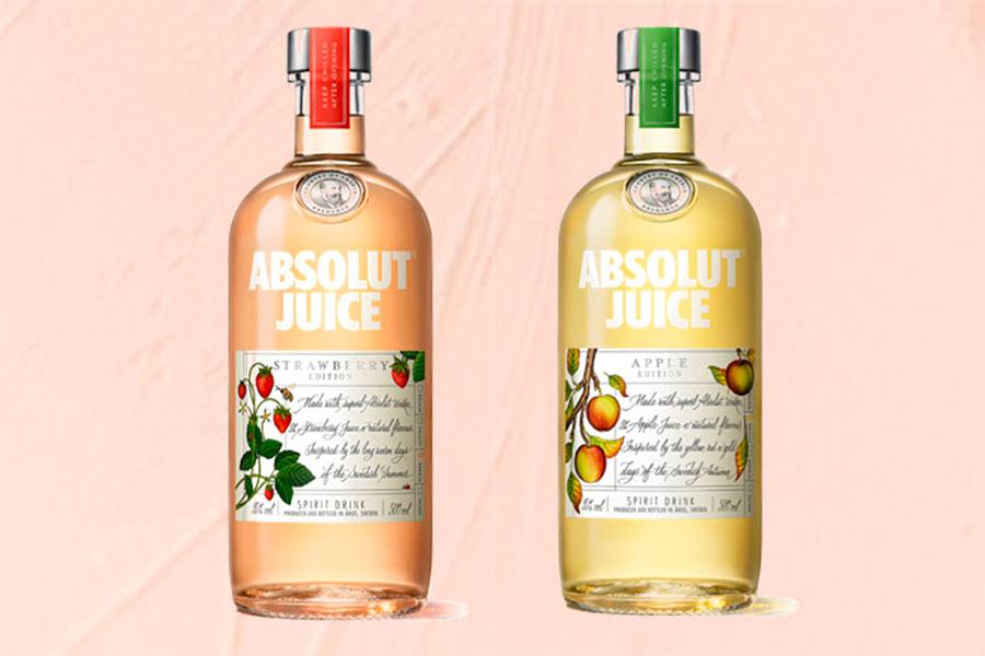 Absolut lance Absolut Juice