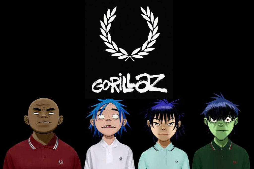 Annonce d'une collaboration Fred Perry x Gorillaz
