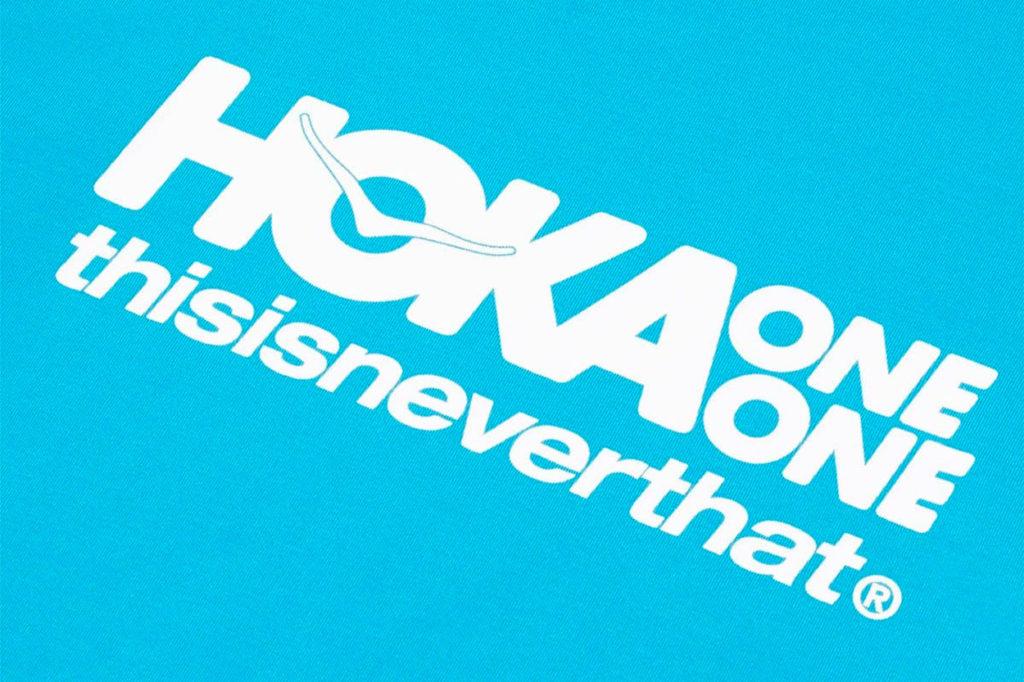 Collaboration Hoka One One x thisisneverthat