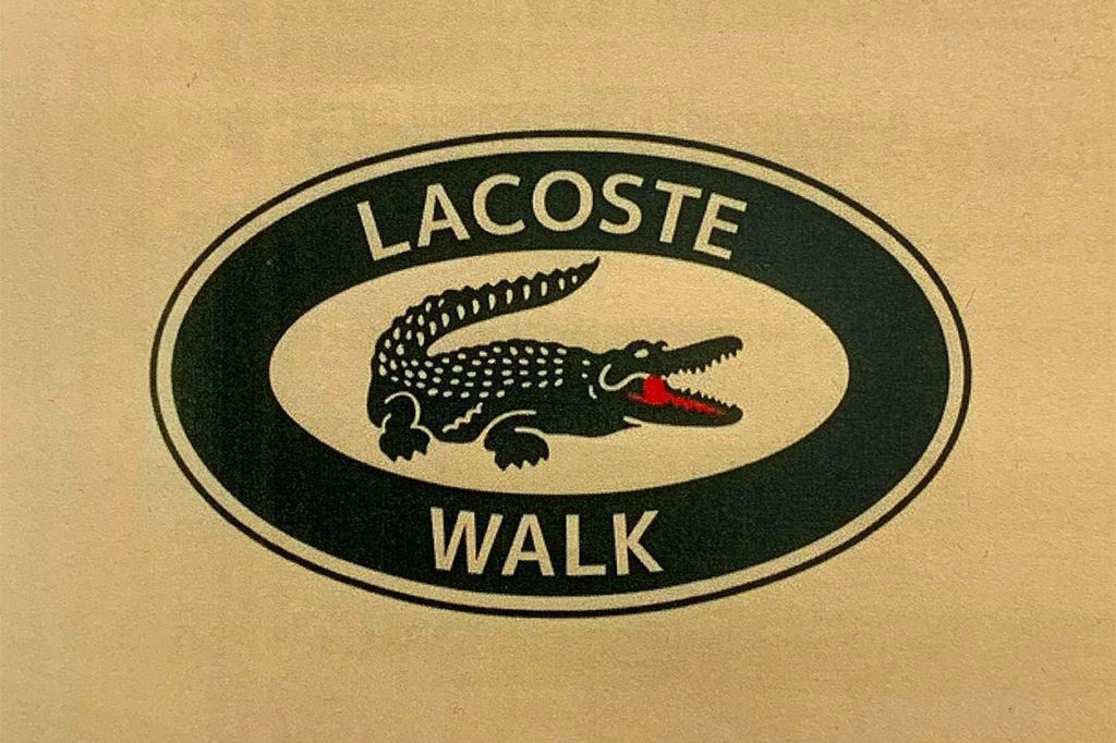Collection édition limitée LACOSTE x Walk in Paris
