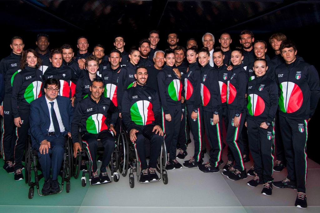 Giorgio Armani habille l'équipe d'Italie aux Jeux Olympiques et Paralympiques de Tokyo 2021
