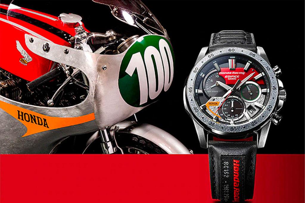 Montre Honda Racing x CASIO Edifice EQS-930HR