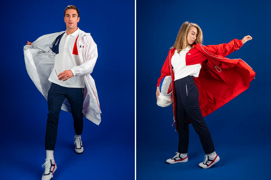 Collection LACOSTE Olympiques et Paralympiques Tokyo 2021