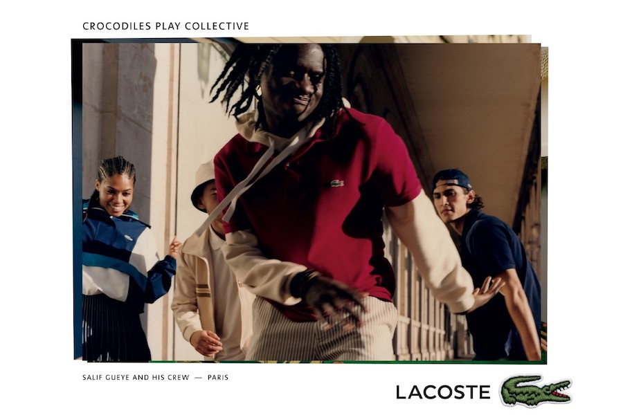 "Campagne LACOSTE ""Crocodiles Play"" Printemps/Été 2021"
