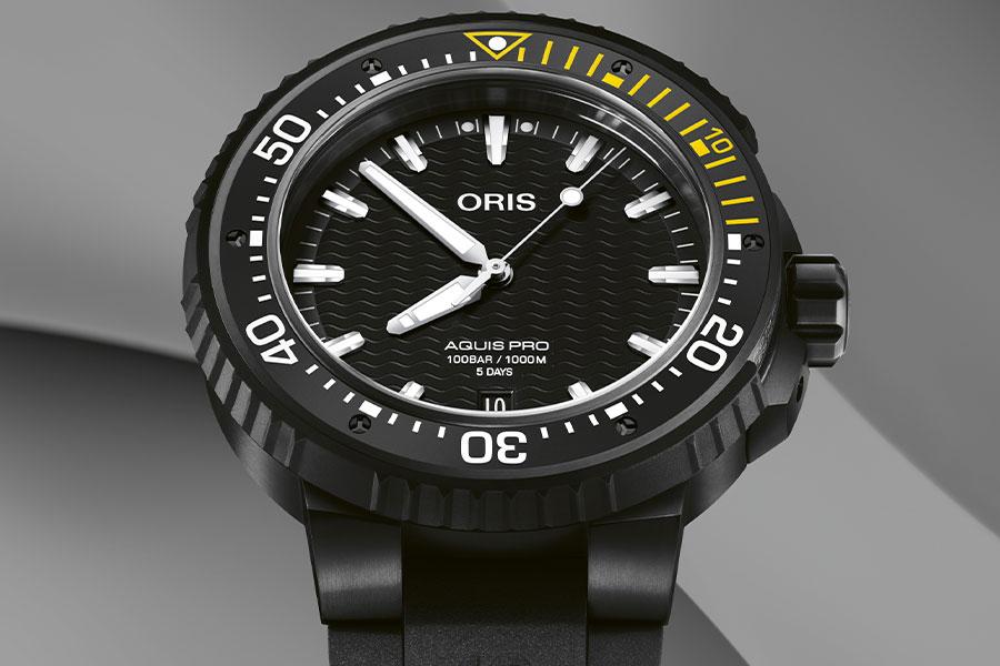 Montre de plongée Oris AquisPro Date Calibre 400