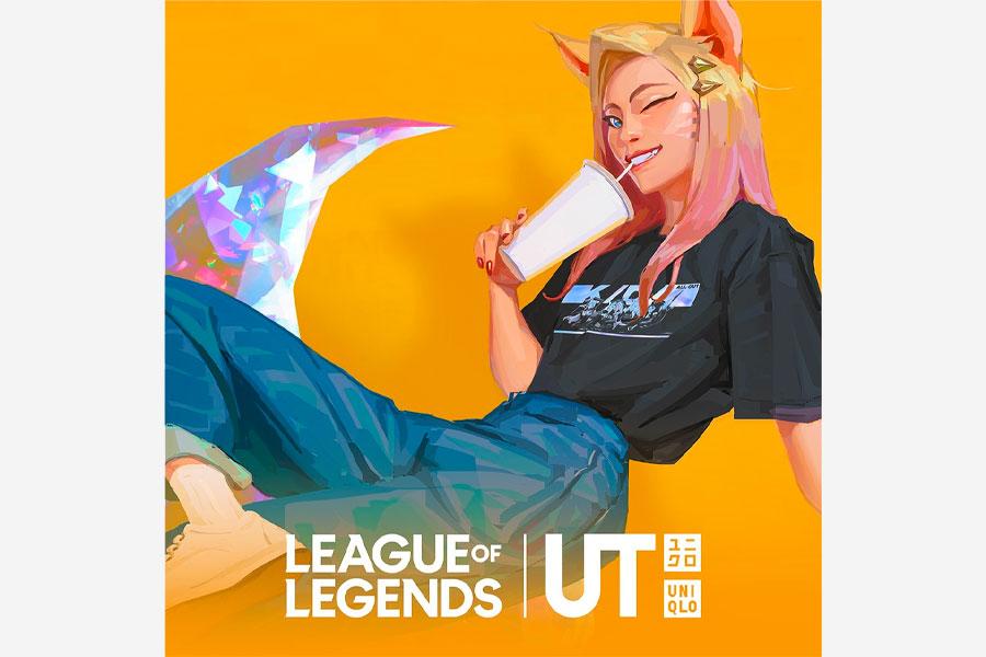 """Riot Games x UNIQLO UT """"League of Legends"""""""