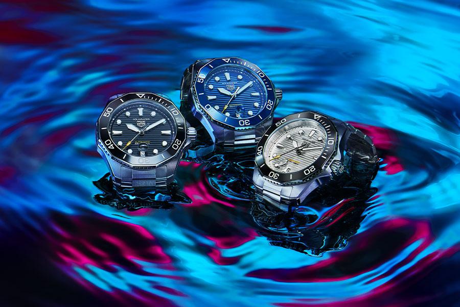 TAG Heuer vise les extrêmes avec l'Aquaracer Professional 300