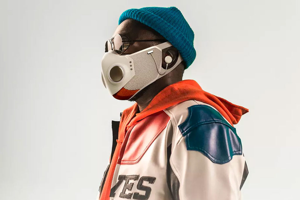 Will.i.am dévoile le masque facial XUPERMASK