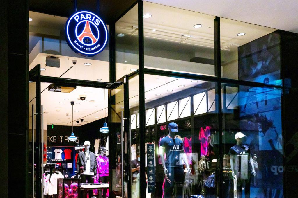 Boutique Paris Saint-Germain Los Angeles