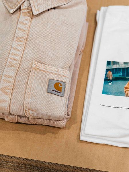 """Carhartt WIP x Galeries Lafayette Champs-Élysées """"Happy Summer"""""""