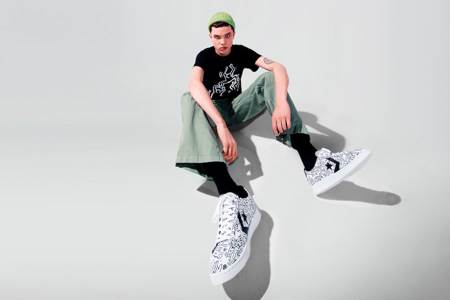 Collection Converse x Keith Haring