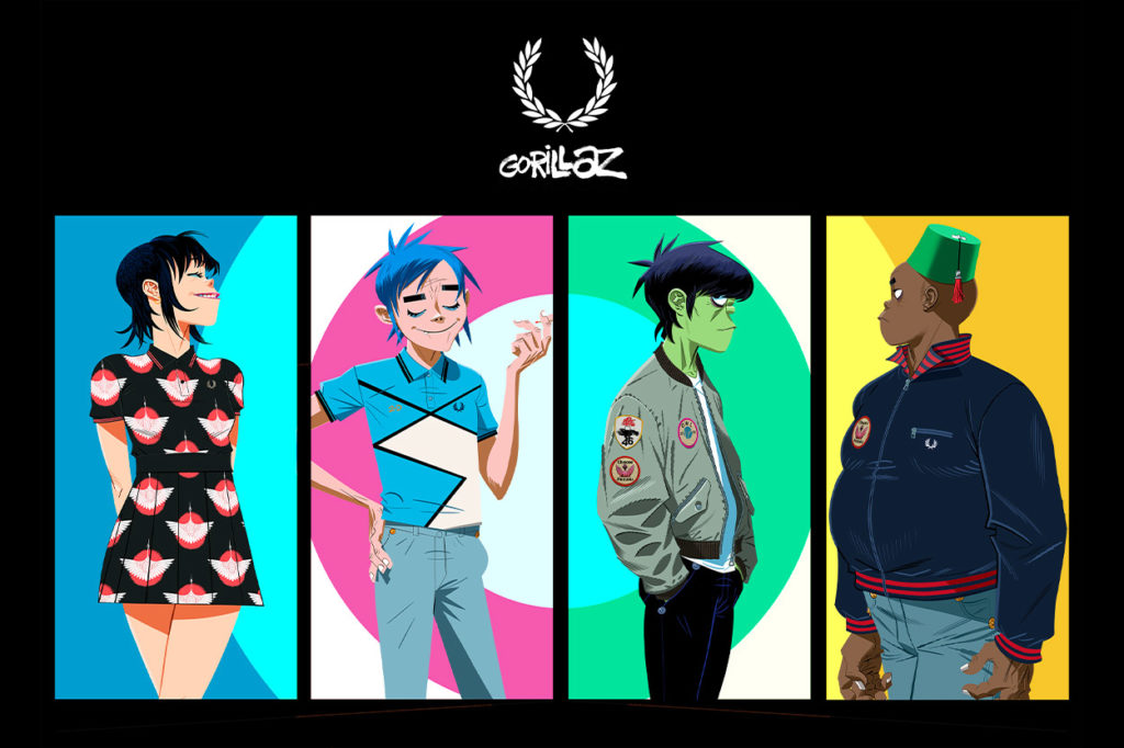 Collection Fred Perry x Gorillaz