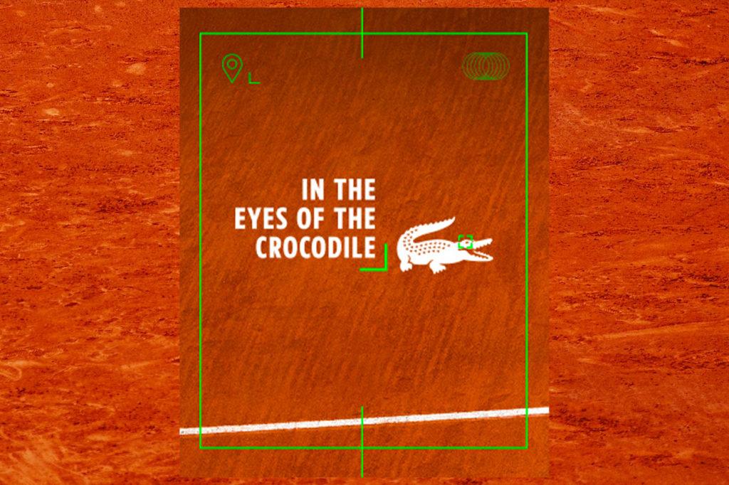 """LACOSTE x Roland Garros """"L'Oeil du Crocodile"""""""