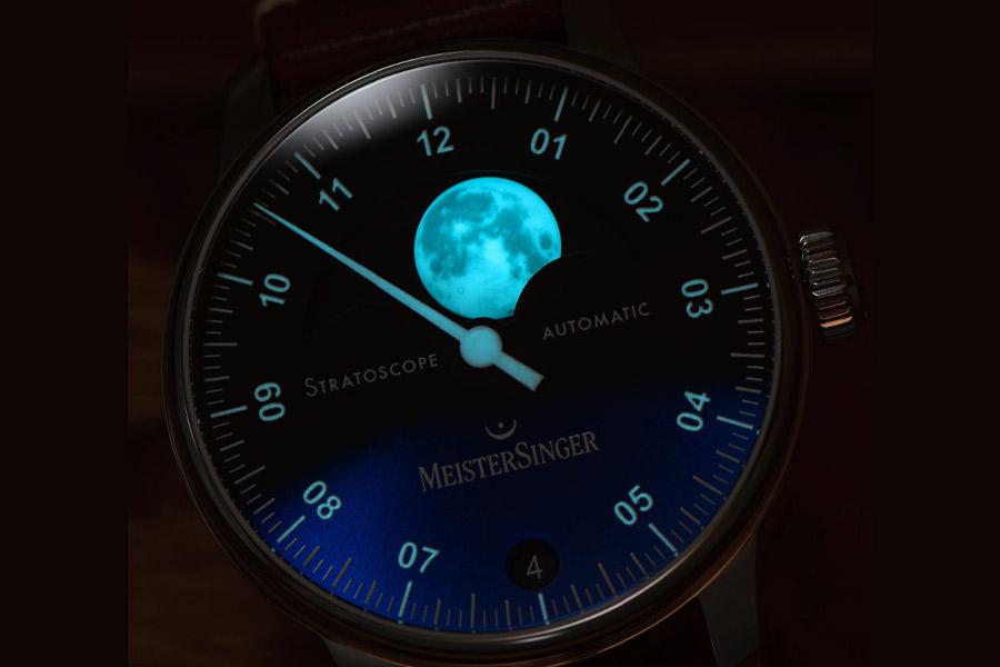 Nouvelle montre MeisterSinger Stratoscope